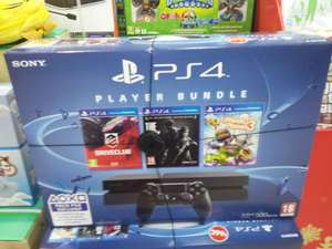 Pack Console Sony PS4 500Go + DriveClub + The Last Of Us + Little Big Planet 3