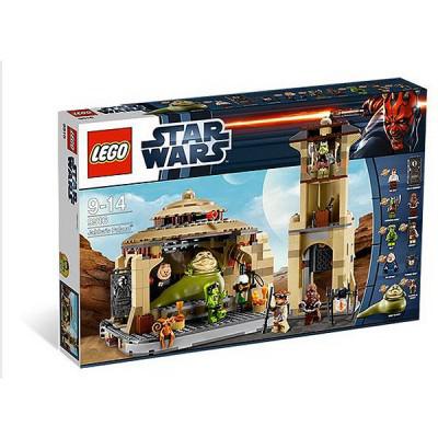 le palais de Jabba Lego