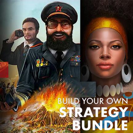 Strategy Bundle: 3 jeux PC parmi une sélection dont Tropico 4, RollerCoaster Tycoon 2, Omerta, 911 Operator, Crookz... (Dématérialisé-Steam)