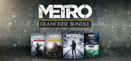 Bundle de jeux Metro sur PC - Metro 2033 Redux + Metro Last Light Redux + Metro Exodus + Expansion Pass (Dématérialisés)