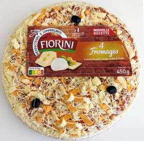 Lot de 3 pizzas 4 fromages Fiorini - 3 x 450g