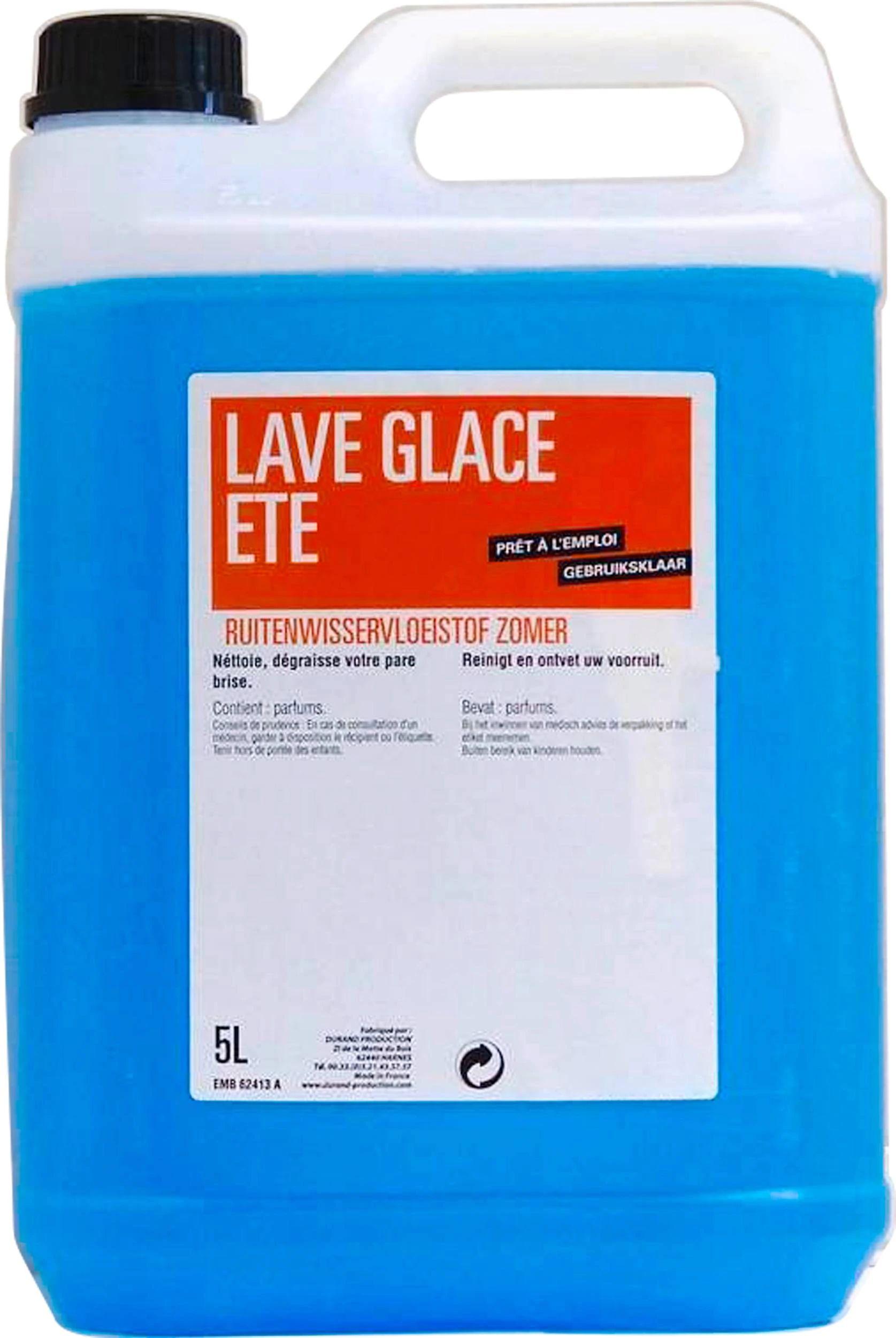 Bidon de liquide lave glace été - 5 L