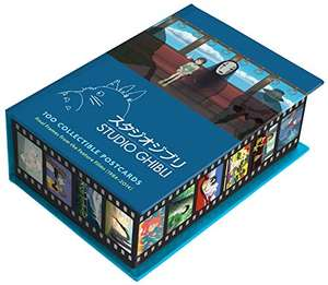 Coffret de 100 cartes postales : Studio Ghibli 100 PostCards Collector: Final frames from the motion pictures