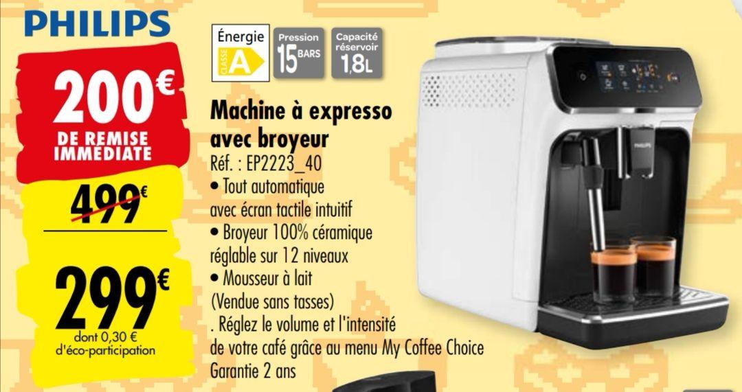 Machine à expresso avec broyeur Philips 2223/40