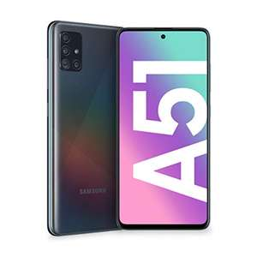 "Smartphone 6.5"" Samsung Galaxy A51 - Double SIM, 128 Go, Noir (+12,50€ en SuperPoints - 234,99€ avec le code RAKUTEN15)"