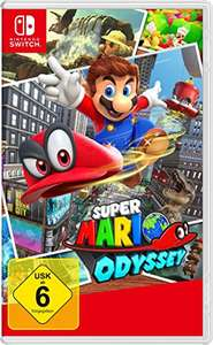 Super Mario Odyssey à 38.89€ ou The Legend of Zelda: Link's Awakening à 37.39€ sur Nintendo Switch