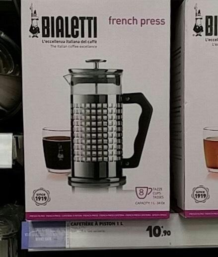 Cafetière à piston Bialetti - 1L/8 tasses