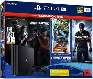 Console Sony PS4 Pro 1To + The Last of Us + Uncharted: The Nathan Drake Collection + Uncharted 4: A Thief's End + Uncharted: The Lost Legacy