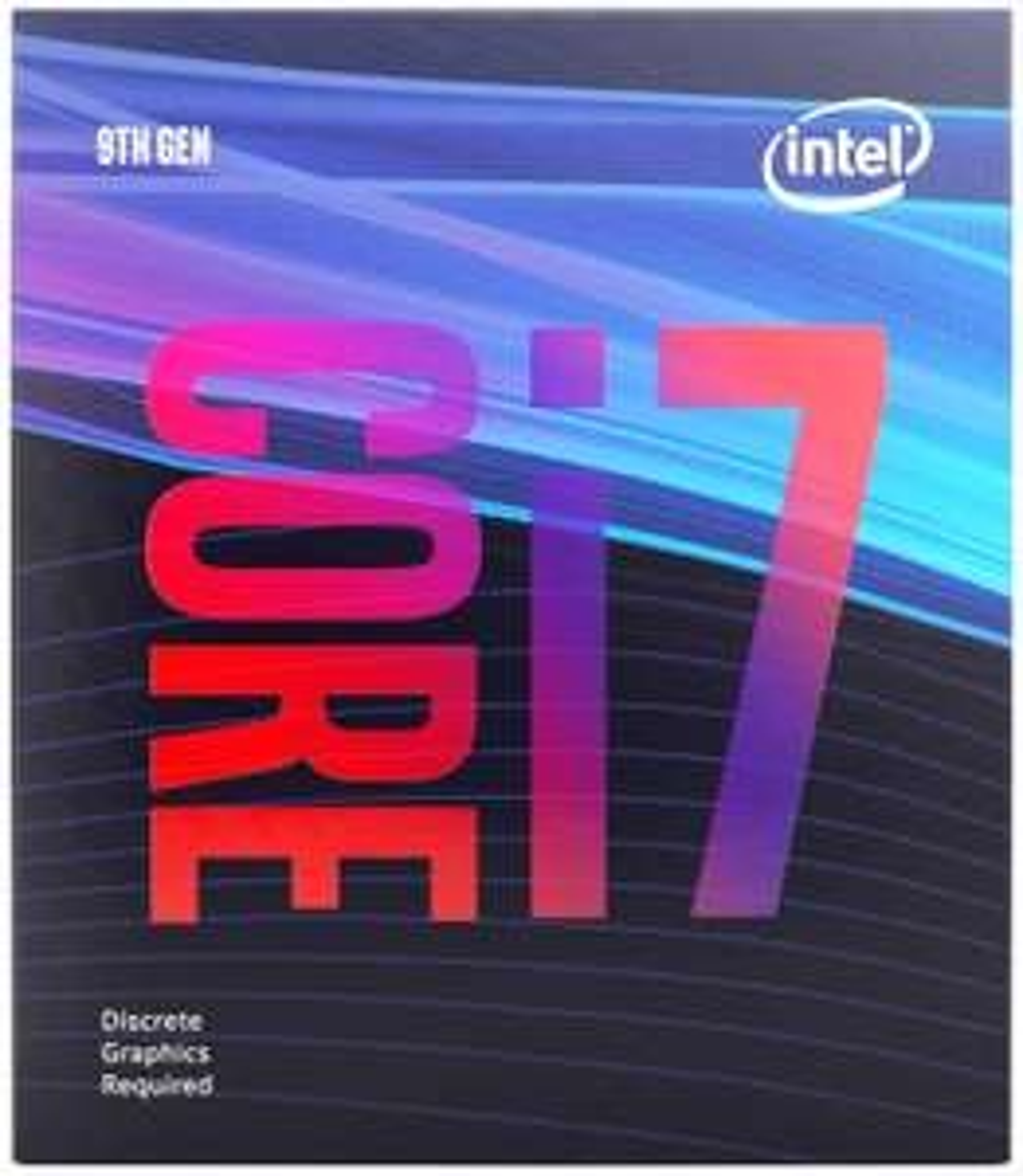 Processeur Intel i7 9700F - 3.0 GHz, Mode Turbo à 4.7 GHz