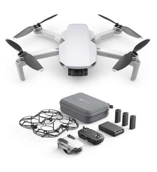 Drone DJI Mavic Mini Fly More Combo (Via retrait magasin)