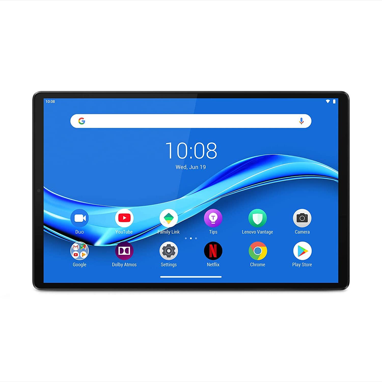 "Tablette 10.3"" Lenovo Tab M10 Plus X606 - Full HD, Helio P22T, RAM 4 Go, 64 Go (Gris)"