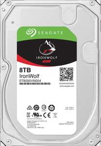 """Disque dur interne 3.5"""" Seagate Ironwolf ST8000VN004 - 8 To"""