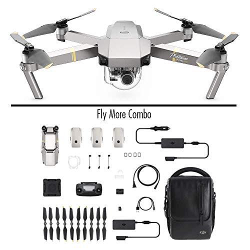 Drone DJI Mavic Pro Fly More Combo Platinum| avec 3 Batteries & Chargeur Auto