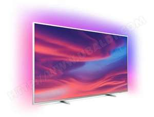 """TV LED 70"""" Philips 70PUS7304/12 - 4K UHD, HDR 10+, Android TV, Ambilight 3 côtés, Dolby Vision & Atmos"""