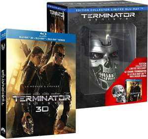 Coffret Blu-ray 3D : Terminator Genisys - édition collector Endoskull