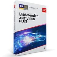 Antivirus Bitdefender Plus 2020 2 ans 3 PC (via 25€ sur la carte)