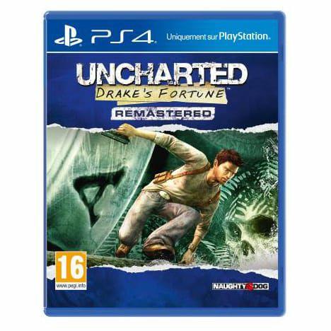 Jeu Uncharted remastered sur PS4 (Via 15€ sur Carte de Fidélité)