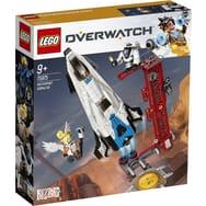 Jeu de Construction Lego Overwatch 75975 - Observatoire : Gibraltar (Via 24€ sur Carte de Fidélité)
