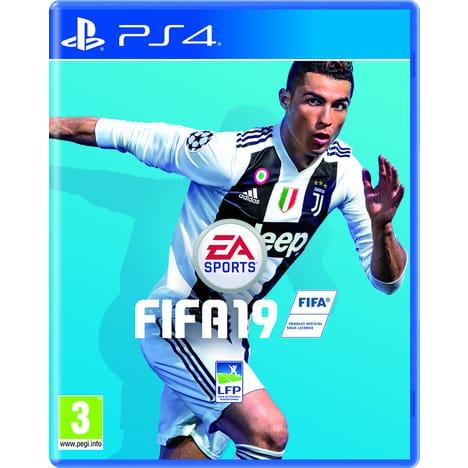 FIFA 19 sur PS4 (avec 25€ sur la carte)