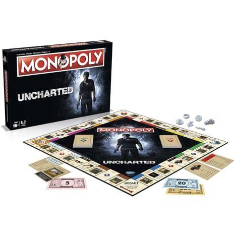 Jeu de société Monopoly Uncharted (via 17,99€ sur la carte fidélité)