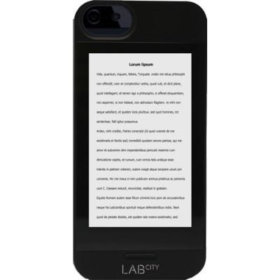 Coque Labcity E-ink pour iPhone 5/5S - Noir