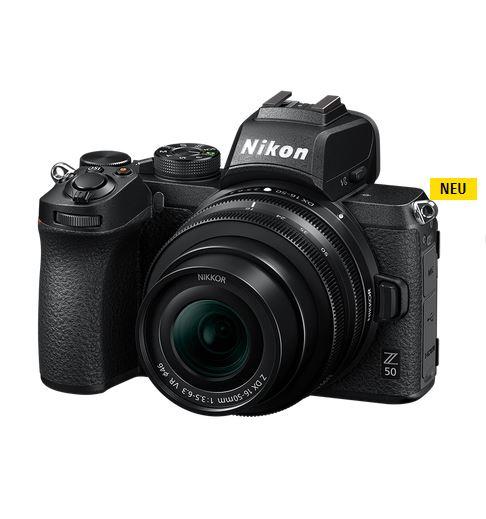 Appareil photo Nikon Z50 + Objectif DX 16-50 / 3.5-6.3 VR (nikonservice-muenchen.de)