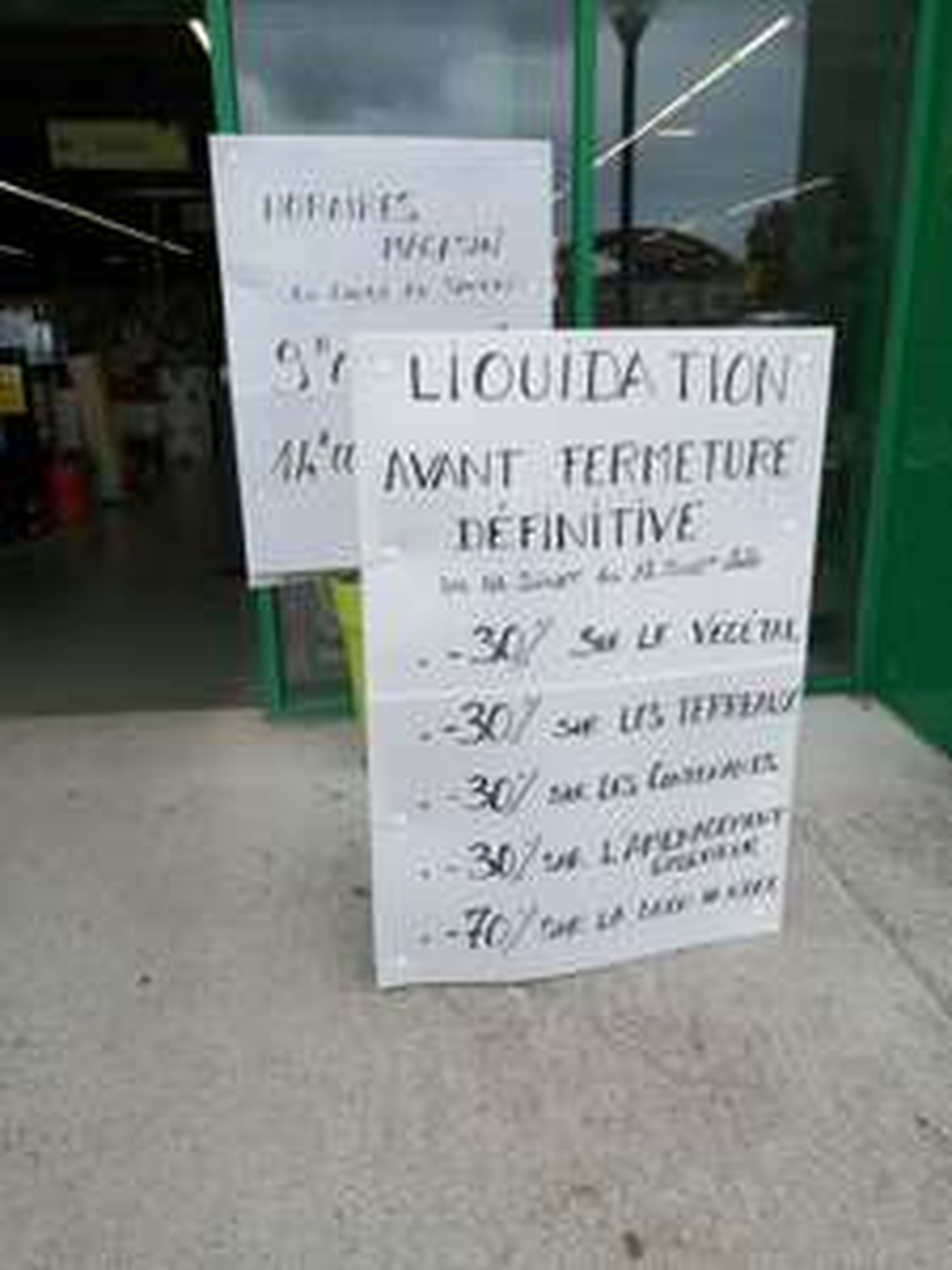 30% de réduction sur tout le magasin et 70% sur la décoration de Noël (liquidation avant fermeture) - Biganos (33)