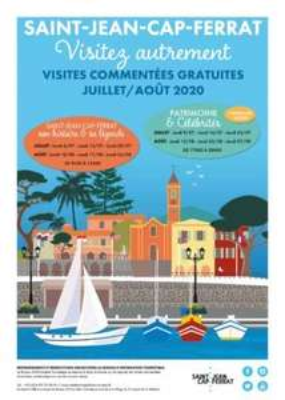 Visite commentée gratuite de Saint Jean Cap Ferrat (06)
