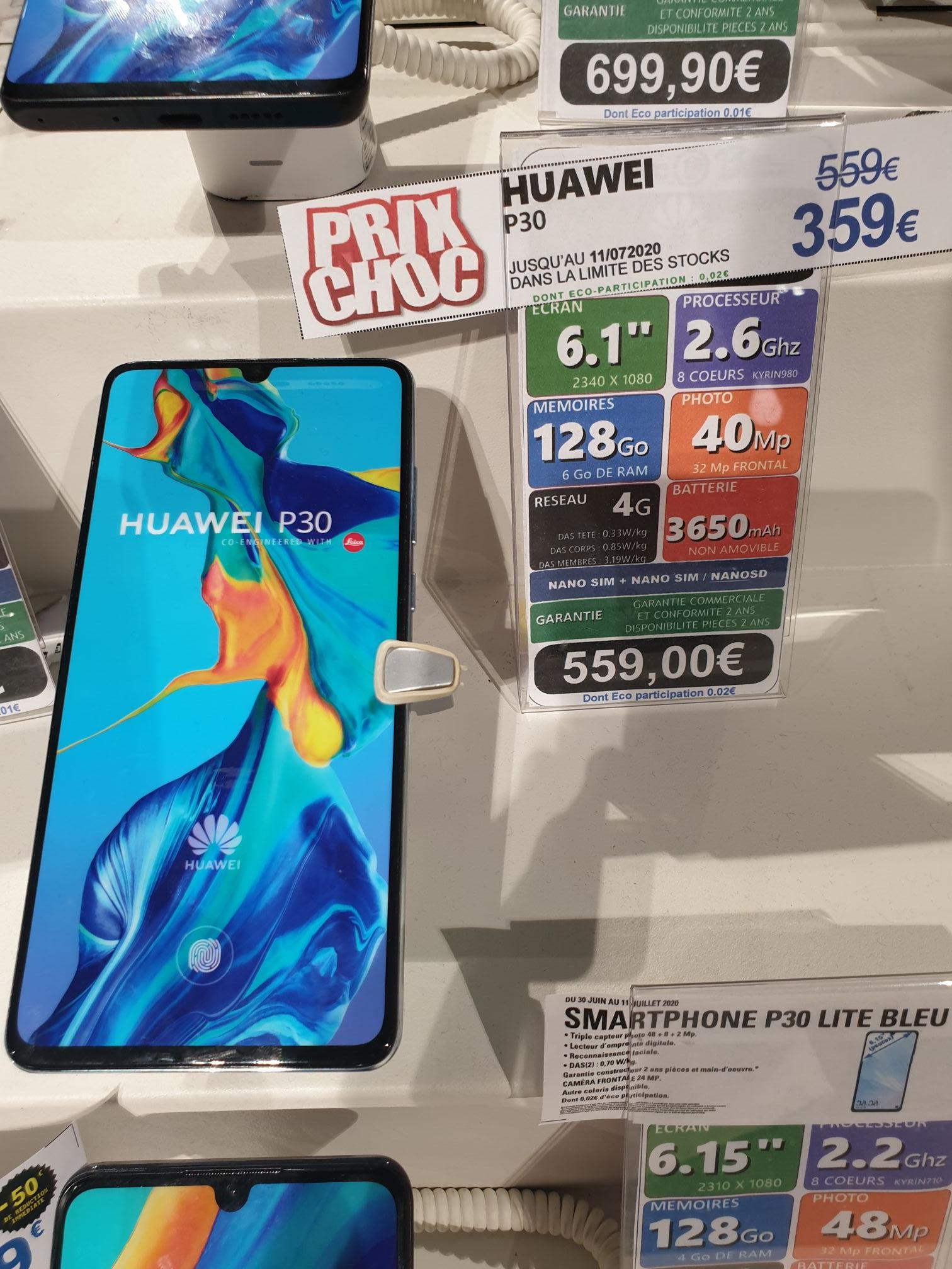 "Smartphone 6.1"" Huawei P30 - Full HD+, 6 Go RAM, 128 Go - Blagnac (31)"