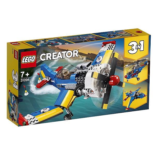 Jeu de construction Lego Creator 3 en 1 : L'avion de course n°31094