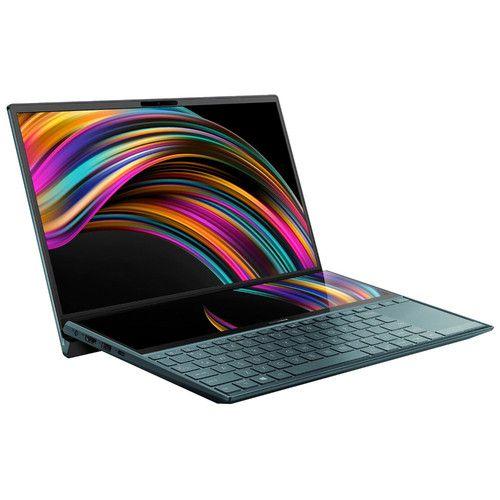 """PC Ultra-Portable 14"""" Asus ZenBook Duo UX481FA-BM017T - Full HD, i5-10210U, RAM 16Go, SSD 512Go,"""