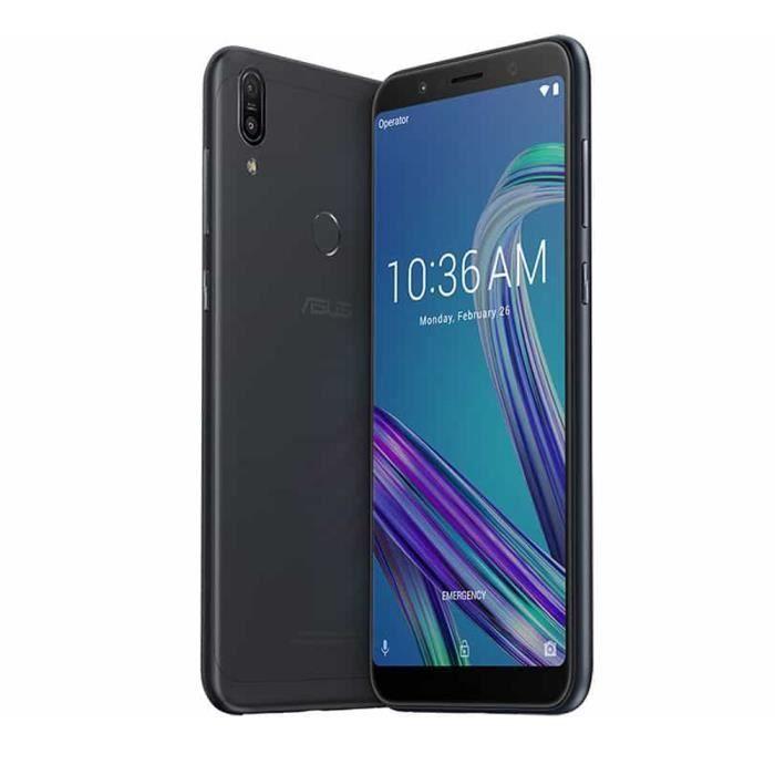 "Smartphone 6"" Asus Zenfone Max pro M1 - 3 Go de Ram, 32 Go (Sans B20)"