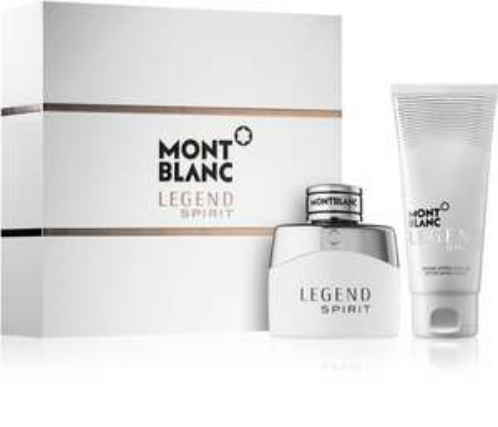 Coffret cadeau Mont Blanc Legend Spirit (Eau de toilette 50ml + baume après-rasage 100ml)