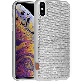 Sélection de coques, étuis et protections d'écrans pour smartphone à 0.75€ - Ex: Coque Adeqwat iPhone Xs Max Porte-carte Aimantée gris