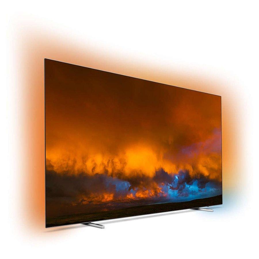 """TV OLED 65"""" Philips 65OLED804 - 4K UHD, Smart TV, Ambilight 3 côtés (1766,95€ via STARLIGHT)"""