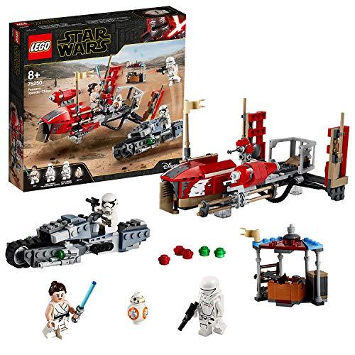 Jouet Lego Star Wars (75250) - La course-poursuite en speeder sur Pasaana