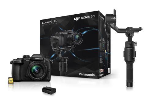 [Adhérents] Appareil Photo Panasonic Lumix GH5 + G Vario 12-60 mm + SD 32 Go + 2ème batterie + Stabilisateur DJI Ronin-SC (via ODR de 200€)