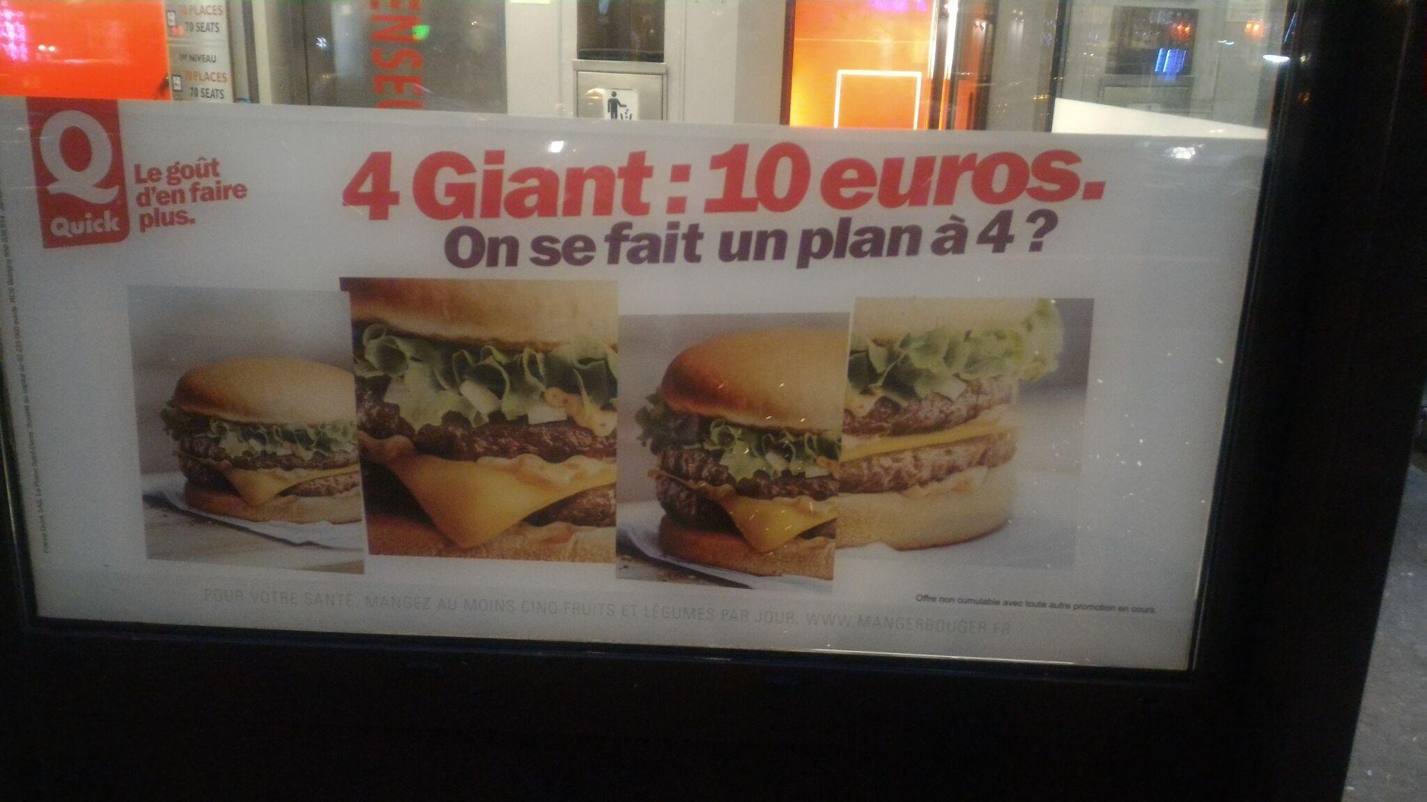 4 Burgers Giant