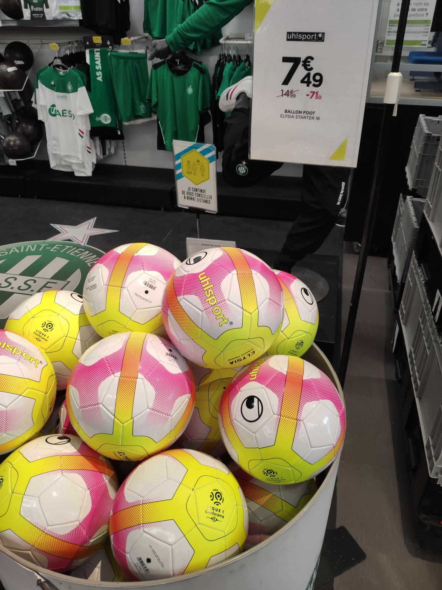 Ballon de Football Uhlsport Ligue 1 Elysia Starter 19 - Saint Etienne (42)