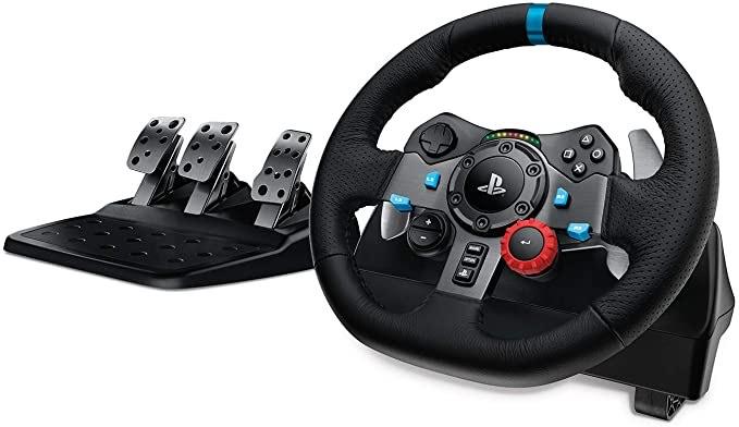 Volant de Course avec Pédales Logitech G29 Driving Force pour PS4/PS3/PC