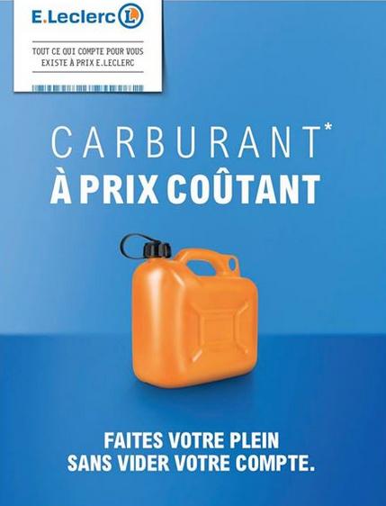 Carburant à prix coutant - Leclerc Bergerac (24)