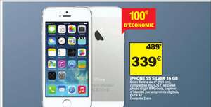 "Smartphone 4"" iPhone 5S Silver - 16 Go"