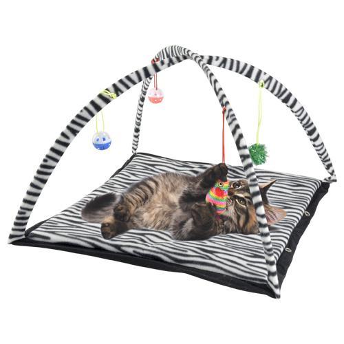 Tapis de jeu pour chatons - Divers Motifs, 55x55cm
