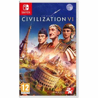 Civilization VI sur Nintendo Switch (boîte avec code)