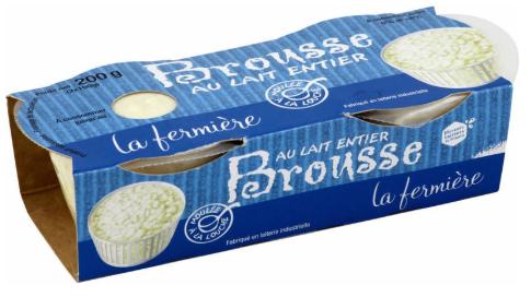 Lot de 2 Packs de 2 Brousses fraîches La Fermière (4 x 100 g) - Montpellier Odysseum (34)