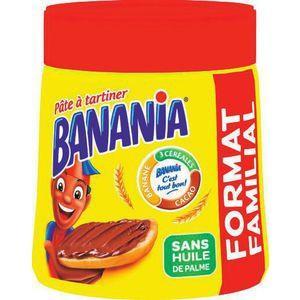 2 Boites de Pâte à Tartiner Banania - 600g (via Shopmium)
