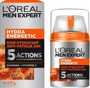Soin Hydratant Anti-Fatigue Visage L'Oréal Men Expert Hydra Energetic - 50 ml