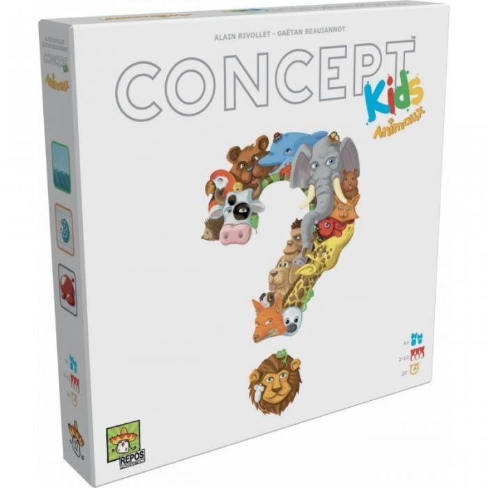 Jeu éducatif Asmodée Concept Kids Animaux