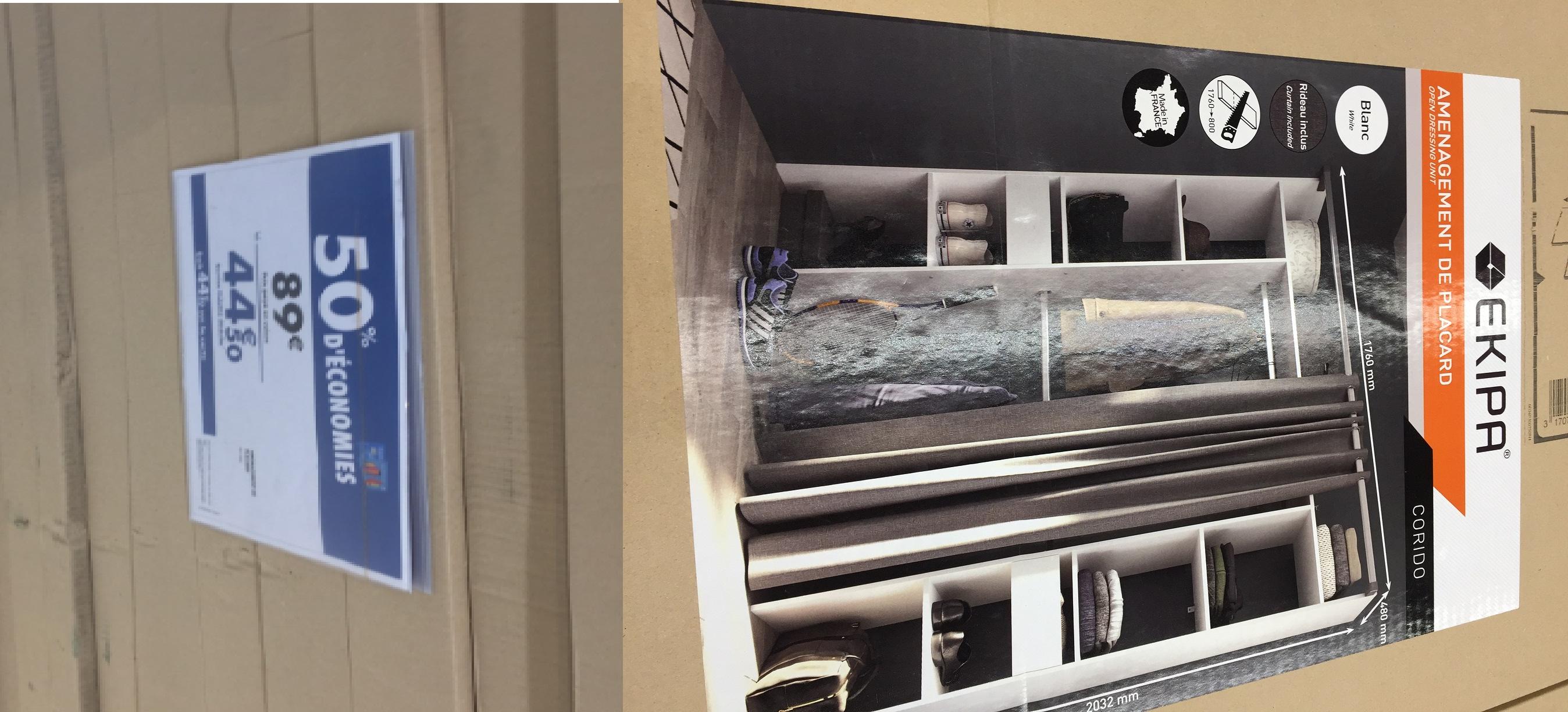 Aménagement placard, dressing et meuble de rangement - Claye-Souilly (77)