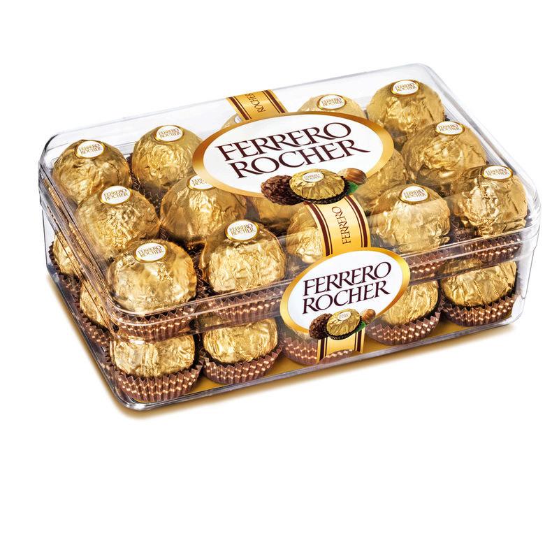 Boite de 30 Ferrero Rocher - DLC courte, Carrefour Villiers-en-Bière (77)